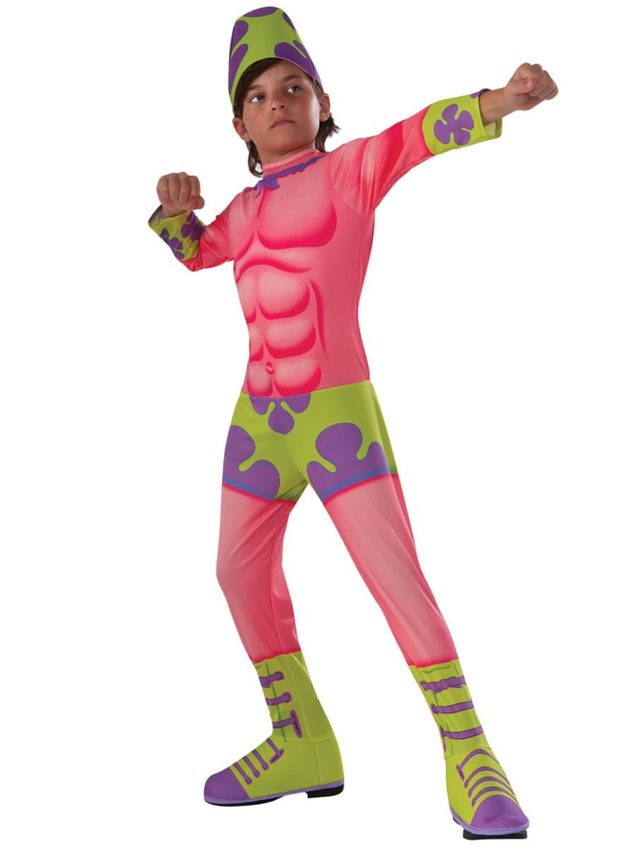 Costume patrick etoile de mer bob l 39 eponge le film enfant - Bob l eponge halloween ...