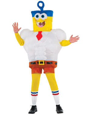 Inflatable SpongeBob Movie Costume for Adults