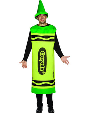 Adult's Red Crayola Costume