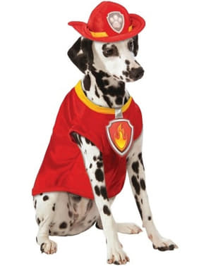 Costume da Marshall Paw Patrol per cane