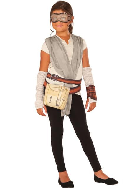Girl's Rey Star Wars the Force Awakens Costume Kit