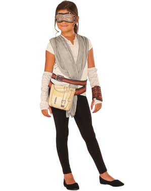 Kit disfraz de Rey Star Wars El Despertar de la Fuerza para niña