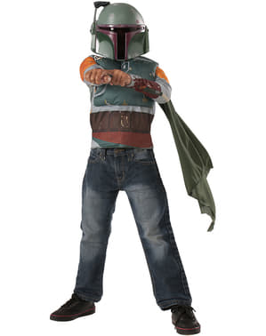 Kit disfraz de Boba Fett para niño