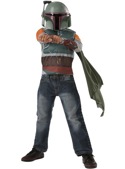 Kit disfraz de Boba Fett para niño - infantil