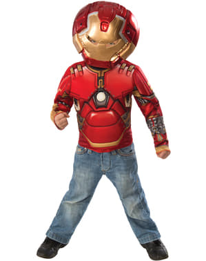 Kit disfraz de Hulkbuster Los Vengadores La Era de Ultrón para niño