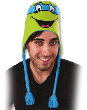 Leonardo Teenage Mutant Ninja Turtles beanie hat