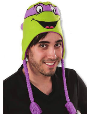 Donatello Teenage Mutant Ninja Turtles beanie hat