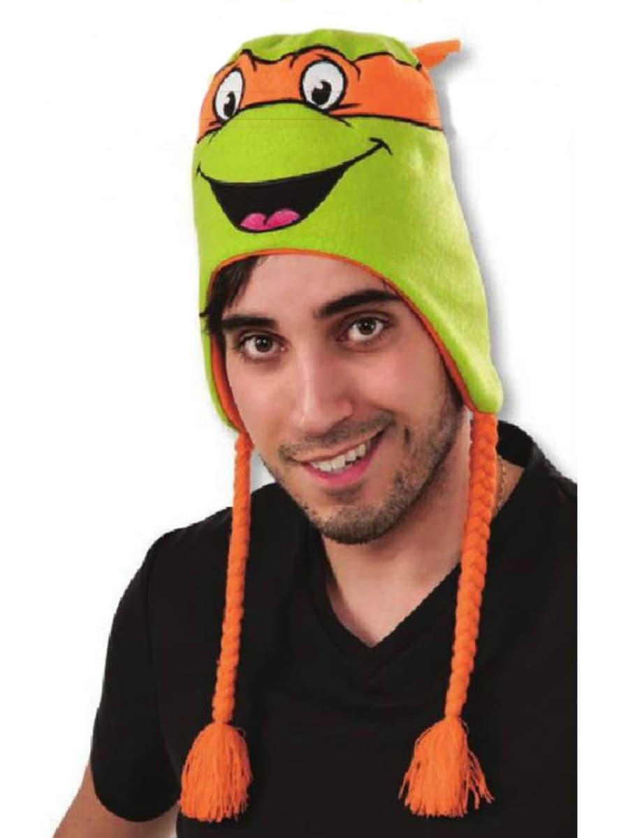 Bonnet michelangelo les tortues ninja pour d guisement - Michaelangelo tortue ninja ...