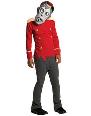 Boy's Buttons Hotel Transylvania Costume
