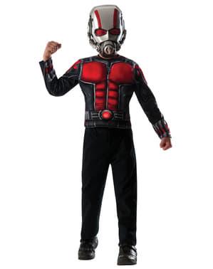 Kit fato de Ant-Man musculoso para menino