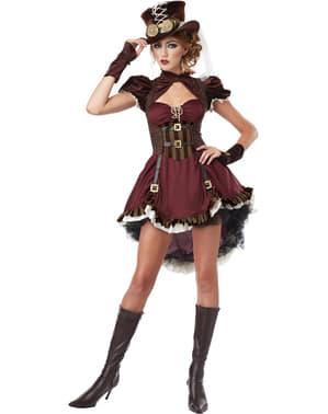 Steampunk kostuum voor vrouwen