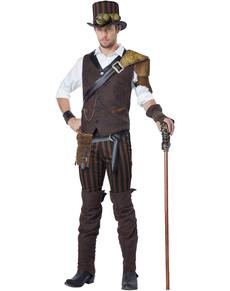 Disfraz de aventurero steampunk para hombre