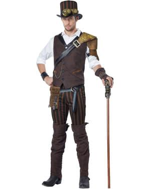 Disfraz de steampunk aventurero para hombre