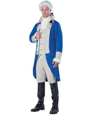 George washington Kostuum voor mannen