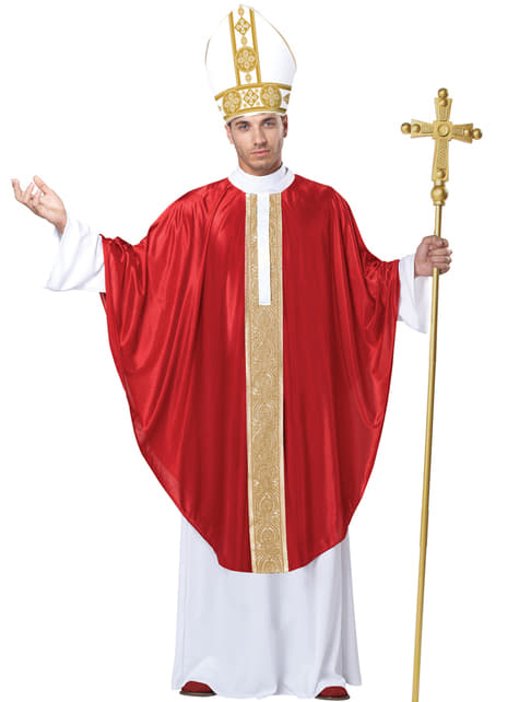 Men's His Holiness Costume