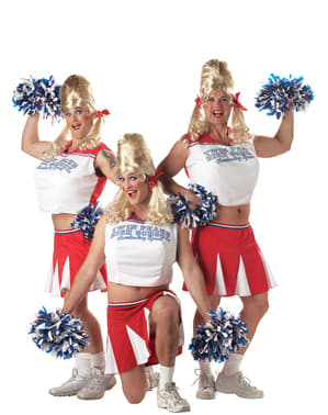 Fato de cheerleader universitária para homem