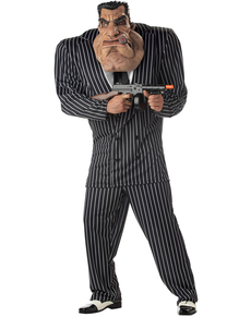 Disfraz de matón colosal para hombre