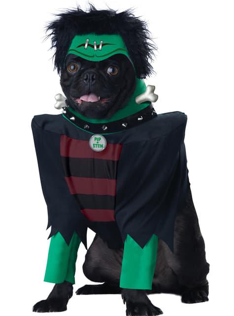 Disfraz de frankenperro para perro