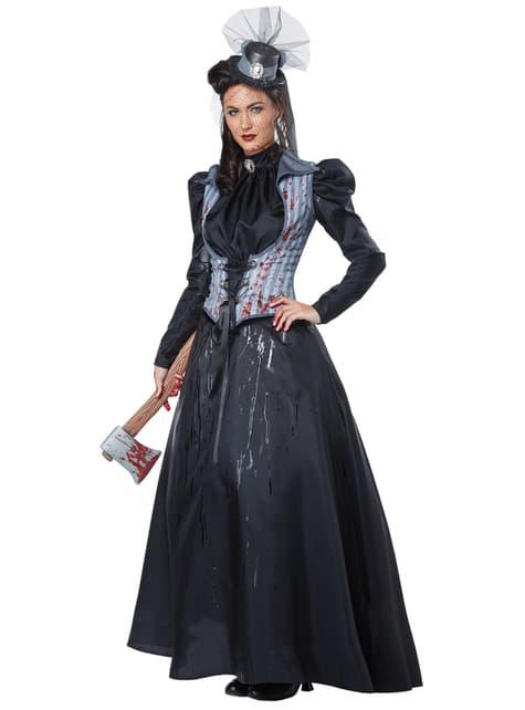 Women's Axe Murderer Costume