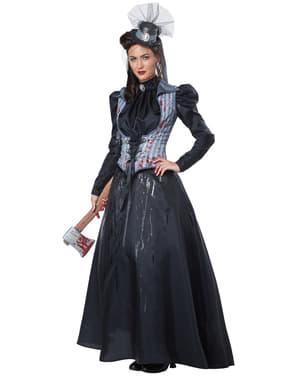 Disfraz de asesina del hacha para mujer