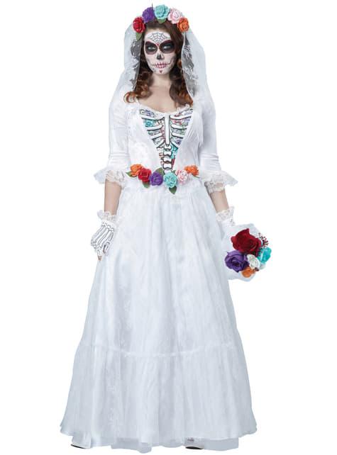 Dode Mexicaans bruid kostuum voor vrouwen