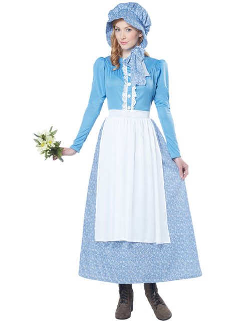 Women's Colonial Pioneer Costume