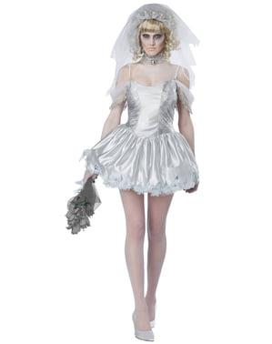 Zombie Braut Kostüm für Damen