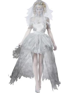 Zombie bruid kostuum voor vrouwen