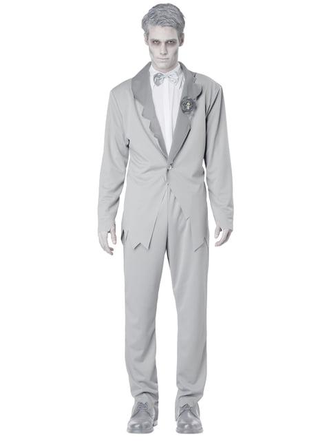 Disfraz de novio fantasmal para hombre