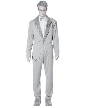 Disfraz de novio cadaver para hombre