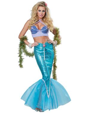 Disfraz de sirena de los siete mares para mujer