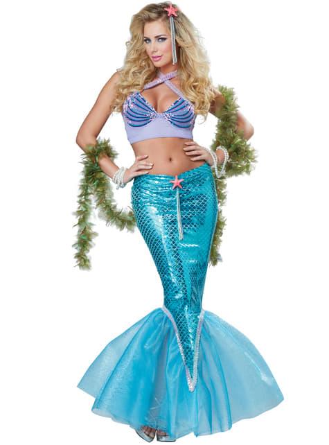 Disfraz de sirena de los siete mares para mujer - mujer