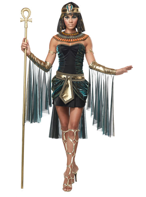 Ägyptische Cleopatra Prinzessin Kostüm für Damen