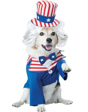 Dog's Uncle Sam Costume