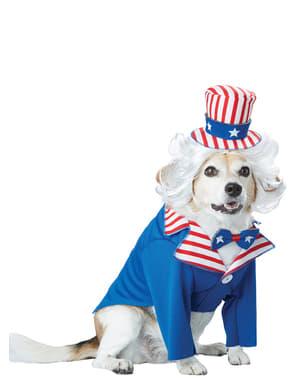 Costume da Zio Sam per cane