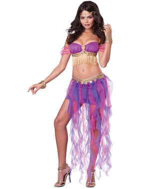 Costum de dansatoare din buric pentru femeie