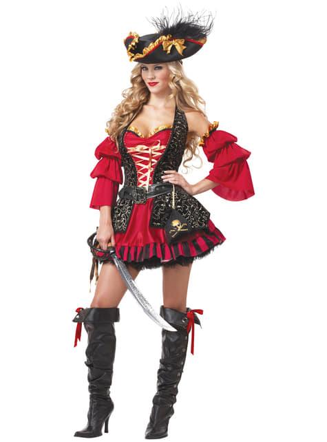 Costume da corsara intrepida per donna