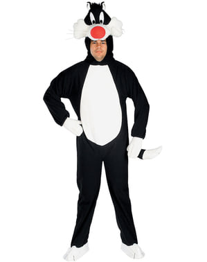 Katten Sylvester Kostyme for Voksen