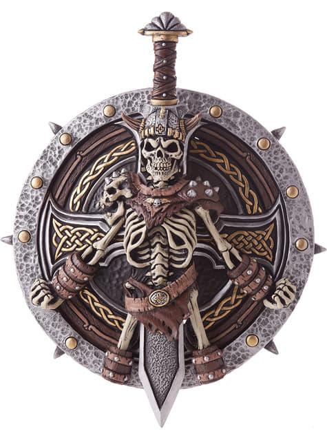 Kit de espada y escudo vikingos