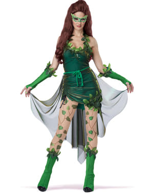 Poisonous Villain Costume for Women