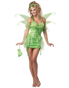 Disfraz de hada Campanita para mujer