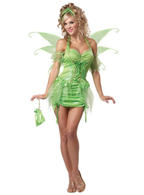Women's Bell Fairy Costume