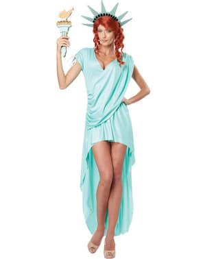 Vrijheidsbeeld Kostuum voor vrouw