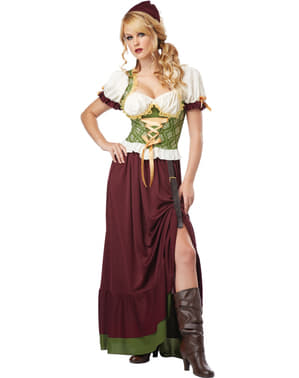 Women's Barmaid Costume