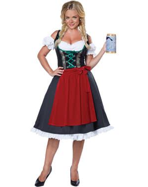 Naisten Saksalainen Hilda -asu