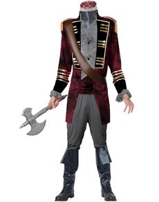 Disfraz de Caballero sin cabeza para hombre