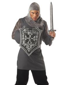 Kit de espada y escudo de caballero de las cruzadas
