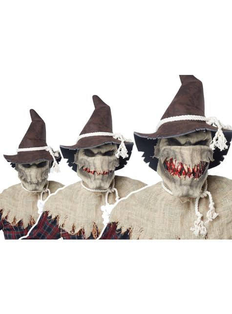 Disfraz de espantapájaros sádico - Carnaval