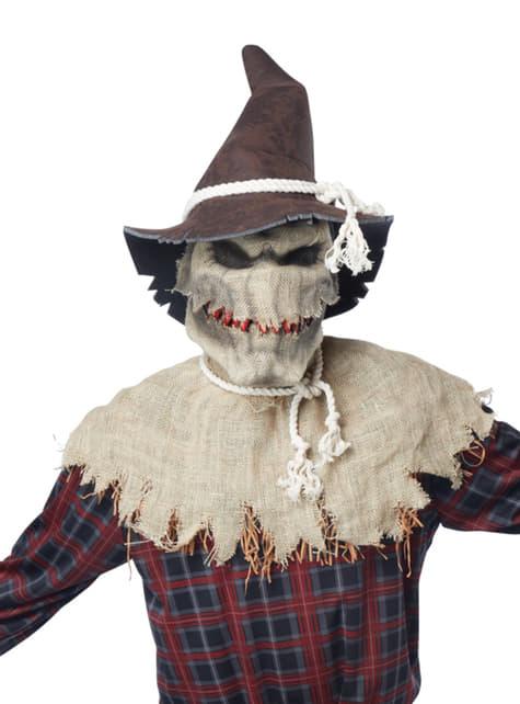 Disfraz de espantapájaros sádico - traje
