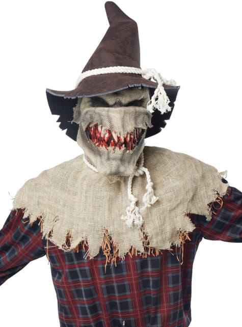 Disfraz de espantapájaros sádico - original